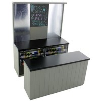 Dollhouse Gray Pub/Bar - Product Image