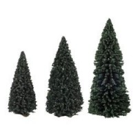 (*) Dollhouse Evergreen Trees (Choice of Sizes) - Product Image