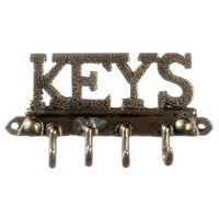 (**) Dollhouse Key Rack - Product Image