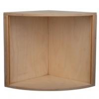 Corner Room Box - Unfinished - Product Image