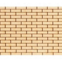 (*) Dollhouse Brick Siding - Product Image