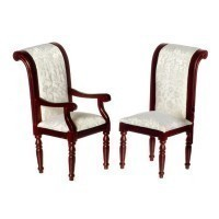 Dollhouse Mahogany Dining Chair - Product Image