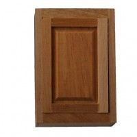 "(*) Dollhouse 1½"" Upper Cabinet - Product Image"