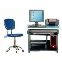 (*) Dollhouse Modern Computer Desk Set - Product Image