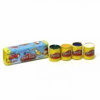 Dollhouse Play Doh Cans - Product Image