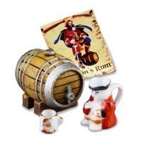 Dollhouse Captain's Rum Set - Product Image