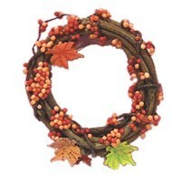 Dollhouse Bittersweet Wreath - Product Image