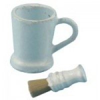 Dollhouse Shaving Cup & Brush Set - Product Image