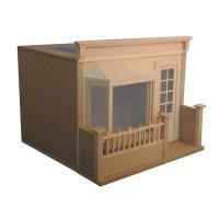 French Cafe Dollhouse Kit - Product Image