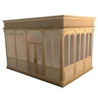 - Special Order -The Gallery Dollhouse Kit - Product Image