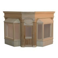 - Special Order -The Corner Boutique Dollhouse Kit - Product Image