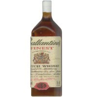 (*) Dollhouse Ballantine's Scotch Bottle - Product Image