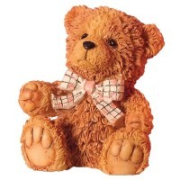(**) Dollhouse Billy Bear Teddy - Product Image