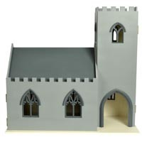 - Special Order -Dollhouse English Chapel / Church (Kit) - Product Image