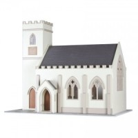 ** In Stock **Dollhouse English Chapel / Church Kit - Product Image