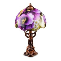 Tiffany Lamp - Pansy Pattern - Product Image