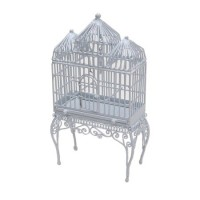 Dollhouse Cathedral Bird Cage - Product Image