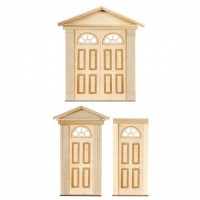 Dollhouse Half Circle Top Door(s) - Product Image