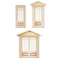 6 Light Federal Raised Panel Door(s) - Product Image