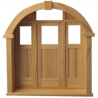 Dollhouse Mountfield Porch Door - Product Image