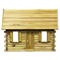 Lakeside Retreat Log Cabin Dollhouse (Kit) - Product Image