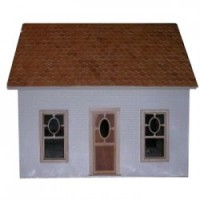 The Cottage Dollhouse Shell (Kit) - Product Image
