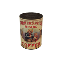Dollhouse Vintage Canned Coffees- Choice Of Style - - Product Image
