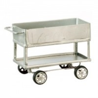 (*) Dollhouse Enclosed Utility Cart - Product Image