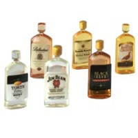 (*) Pint Size Liquor Bottle(s) - Product Image