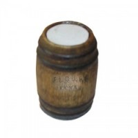 (**) Dollhouse Store Flour Barrel - Product Image