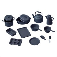 Chrysnbon® Black 14 pc Cookware (Kit) - Product Image