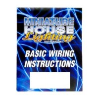 Dollhouse Basic Wiring Instruction Booklet - Product Image