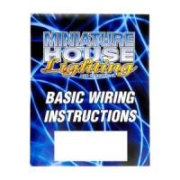 Dollhouse Basic Wiring Instruction Booklet - Product Image