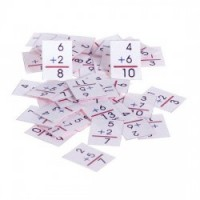 (**) Dollhouse Math Flash Cards - Product Image