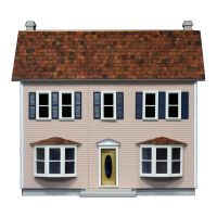 Bay Harbor Front Opening Dollhouse(Kit) - Product Image