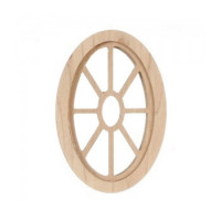 Dollhouse Oval Spider Window - Product Image