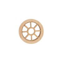 Dollhouse Round Window/Plain Trim - Product Image