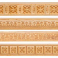 Dollhouse Decortive Wainscoting(s)- Choice of Style - - Product Image