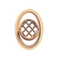 Dollhouse Oval Diamond Design, Working Window - Product Image