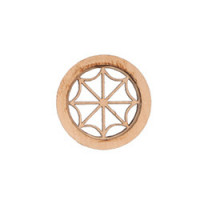 Dollhouse Round Spider Design Window - Product Image