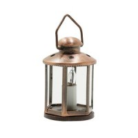 Dollhouse 12 Volt Lantern- Choice of Finish - - Product Image