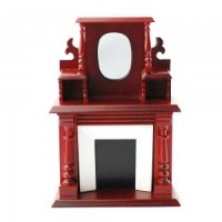 Dollhouse Victorian Fireplace - Product Image