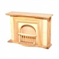 Dollhouse Victorian Unfinished Fireplace - Product Image