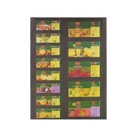 (**) Dollhouse Modern Fruit & Juice Labels - Product Image