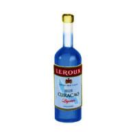 Dollhouse Blue Curacao Bottle - Product Image