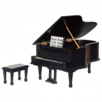Dollhouse Musical Grand Piano - Product Image
