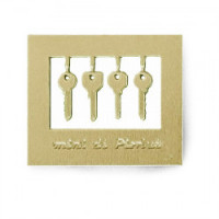(**) Modern Dollhouse Keys- Choice of Color - - Product Image