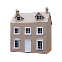 Georgian Cottage Dollshouse (Kit) - Product Image