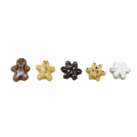 (*) 1, 5 or 6 pc Holiday Cookies- Choice of Styles & Sets - - Product Image