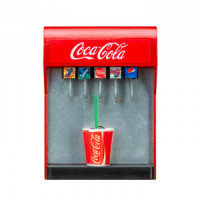 (**) Dollhouse Soda Fountain Soda Dispenser - Product Image